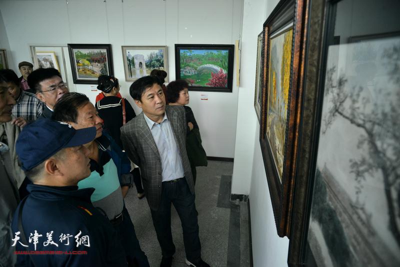 庆祝改革开放40周年暨南开人民文化宫成立60周年优秀美术作品展16日开幕