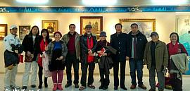 2017河西区迎新春油画作品联展开幕