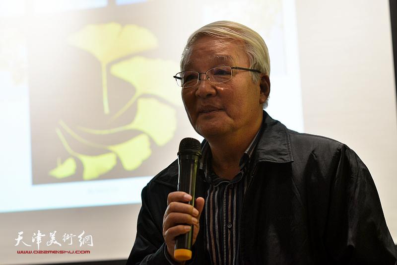 创意产业专家、天津图书馆研究馆员康军先生致辞