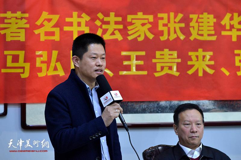 中北镇祁庄村党委副书记姚宝广到场致贺。