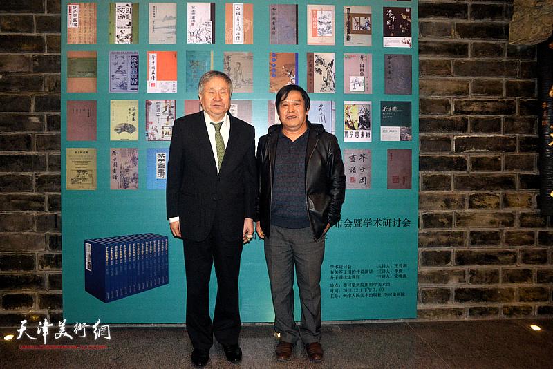 李庚、李耀春在活动现场。