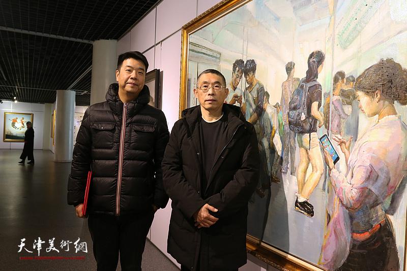 """""""美在京津冀""""纪念改革开放40周年美术作品展"""