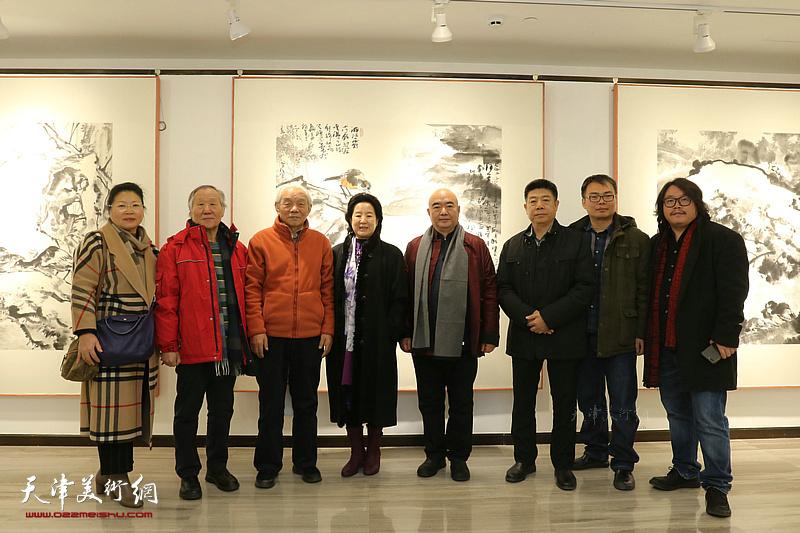 尹沧海书画艺术交流展