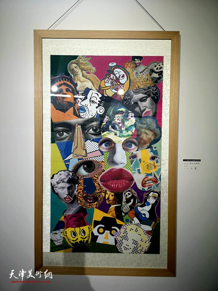 """图为2018""""面孔""""绘画摄影创作展展出的作品。"""