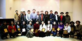 墨舞笔歌致青春-津门青年女画家优秀作品展在天津群艺馆开展
