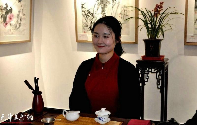 茶艺师现场烹茶