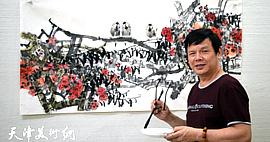 """著名画家李根友:""""根友鸟""""是我的专利"""