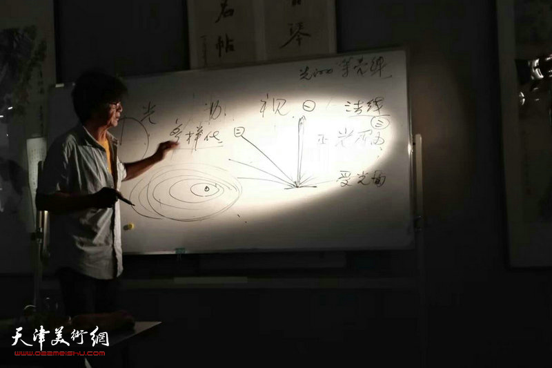 """""""大咖来袭""""胡黎明主讲:用光的理论和实践。"""