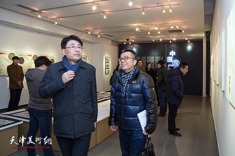 """""""中国家风""""廉政文化招贴展在天津美院美术馆开展"""