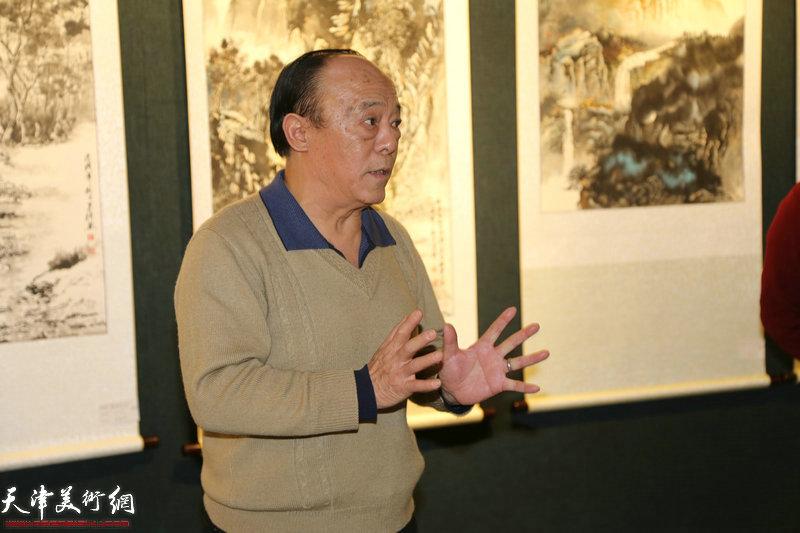 画院执行院长岳荣祥讲话