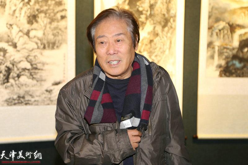 书画院名誉院长王峰讲话