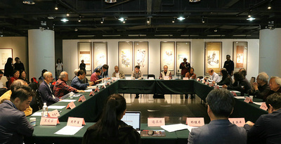 """""""大匠之园-萧朗先生花鸟画艺术学术研讨会""""在天津美术学院举行"""