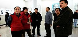 """""""红色记忆·张耀来艺术文献巡回展""""在江西开幕"""