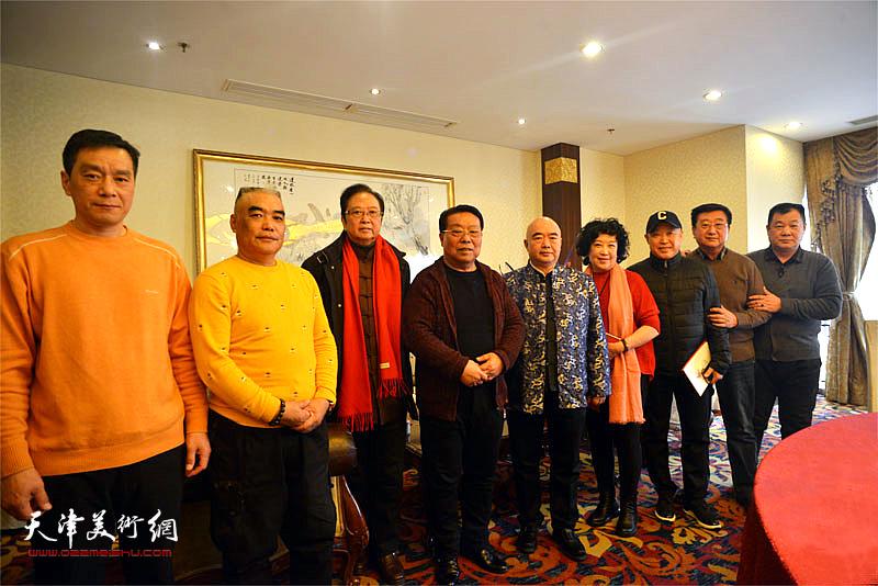 庆祝著名评剧表演艺术家崔莲润从艺60周年新春团拜会在津举行