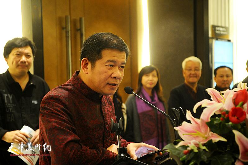 天津泛太平洋酒店总经理黄耀锦先生致辞。