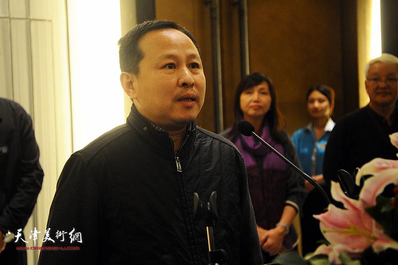 天津师范大学美术学院教授、硕士生导师张立涛先生致辞