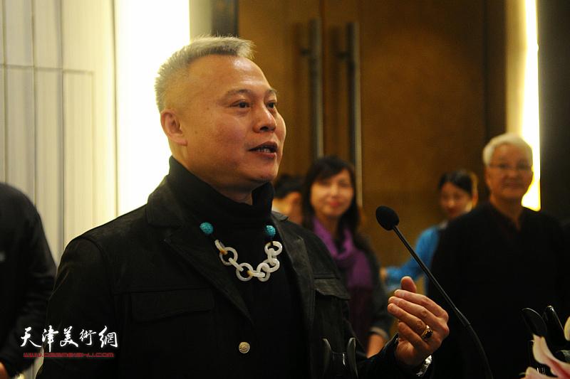 古琴制作传人、艺术家张俊国先生致辞