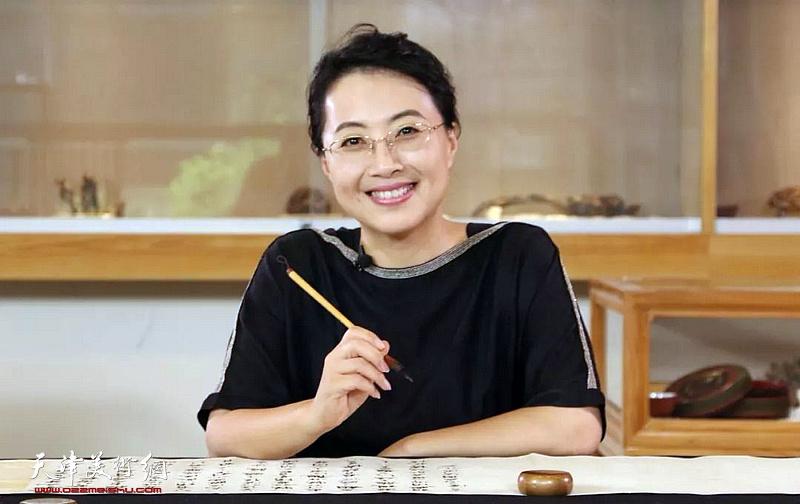 著名女书法家方放3月3日来津开讲 行书的临摹与创作图片