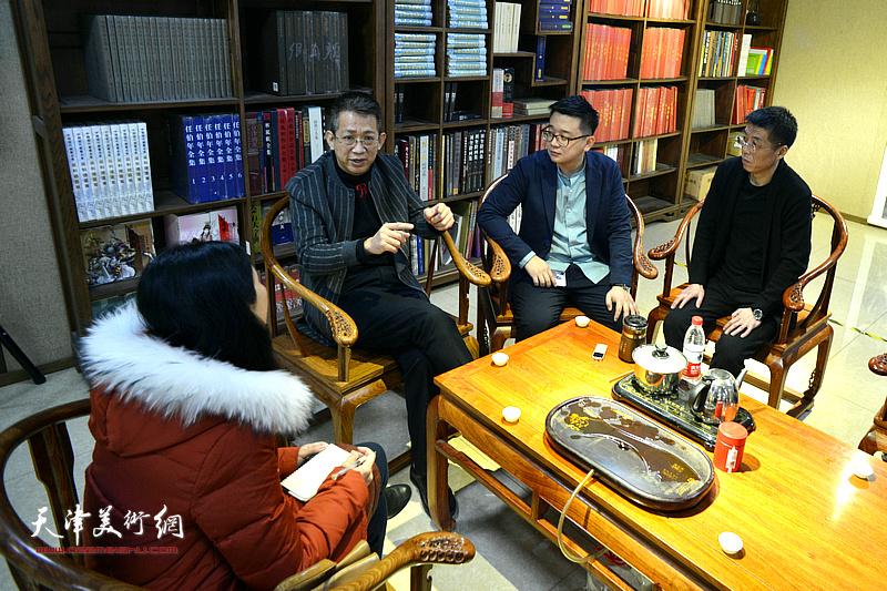 李毅峰携弟子周明、张耀做客《师情画意》