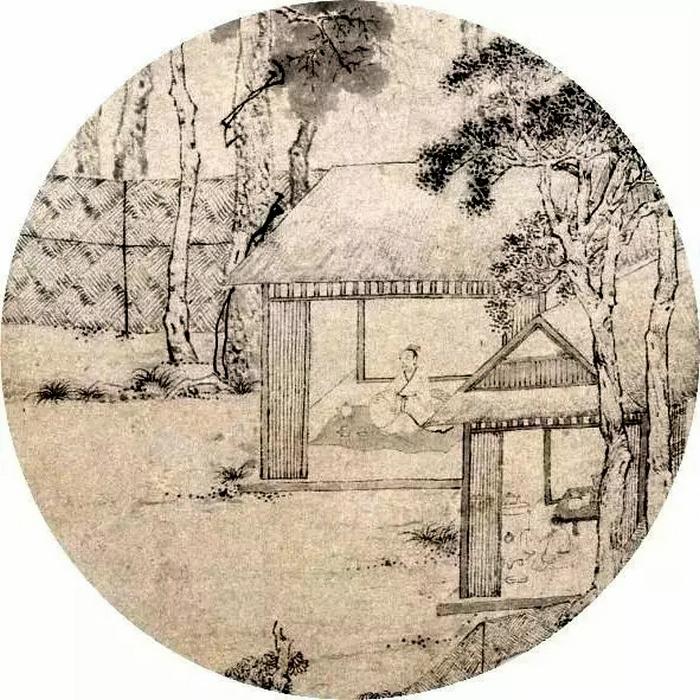 吴门画派-明代 文徵明《茶具十咏图》局部