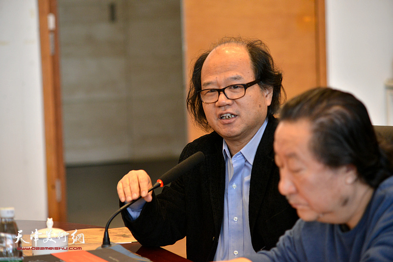 中國國家畫院美術研究院執行院長、中國國家畫院美術研究院執行院長張曉凌