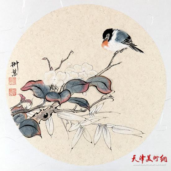 李悦作品《独爱此枝》
