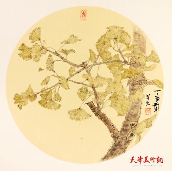 李悦作品《银杏树下》