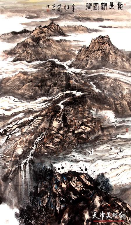 李悦作品《云是鹤家乡》