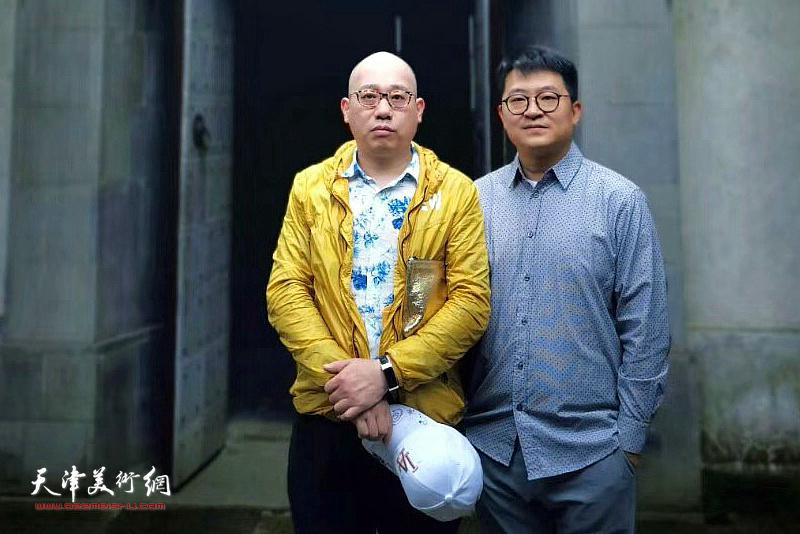 爱新觉罗・恒鑫、爱新觉罗・伯骧在苏州。