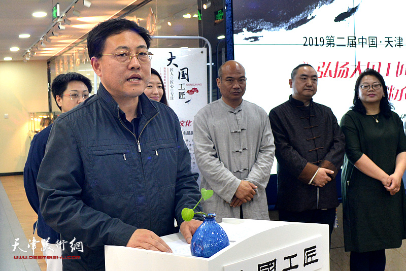 天津市河北区委常委、统战部部长周鸿滨先生讲话