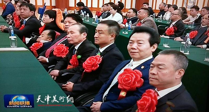 李锐钧出席第六次全国自强模范暨助残先进表彰大会