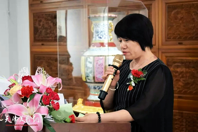 北京百枣居文化发展有限公司副总经理张继红女士致辞。