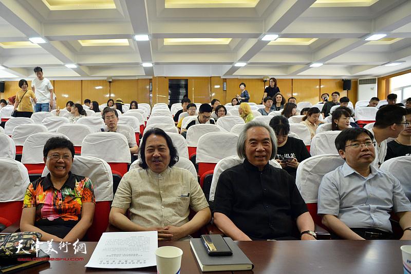 霍春阳、贾广健、蒋宗文、李鑫在颁奖仪式现场。