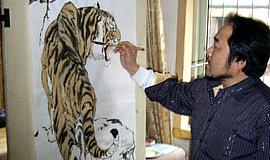 道行天下——记画坛不卧人司军和他的系列绘画