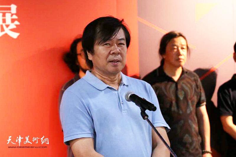 天津美术家协会副主席史振岭先生致辞