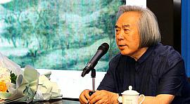 """霍春阳先生做客滨海美术馆名家大讲堂 主讲""""中国画的立意"""""""