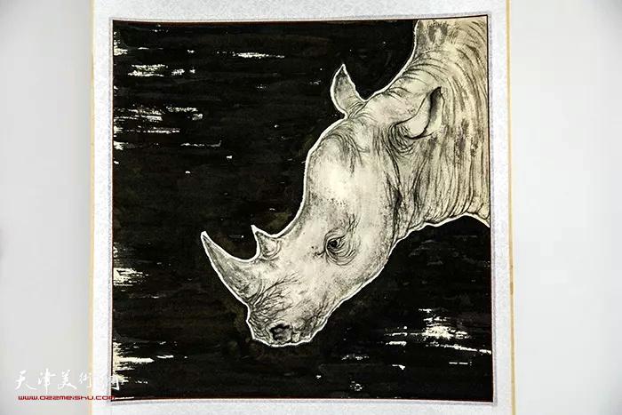 澄怀味象—张超意大利米兰绘画作品展展出的作品。