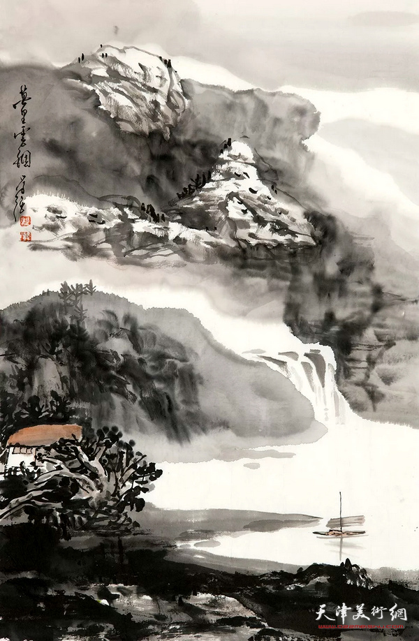 张学强山水画
