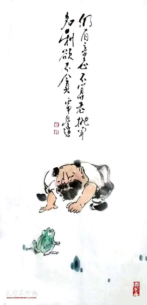 张学强人物画