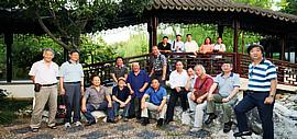 扬州八怪研究院天津院赴苏州阳澄湖参加书画展览和艺术交流活动