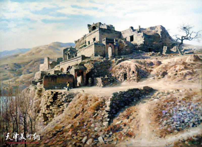 张礼军作品:我家住在黄土高坡