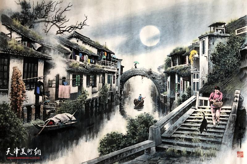 张礼军作品:外婆桥