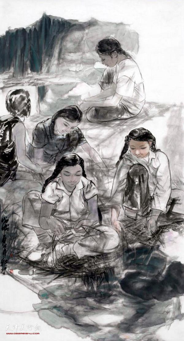 王稳苓作品:青春记忆