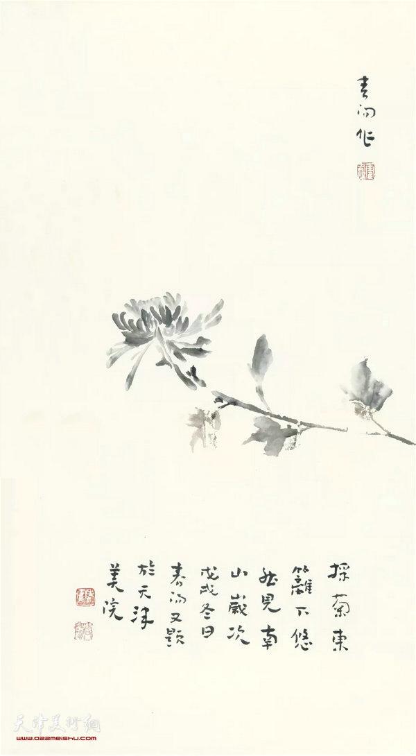 霍春阳精品:采菊东篱下