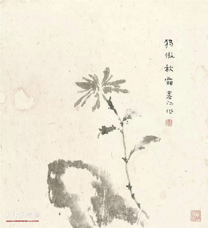 霍春阳精品:独傲秋霜