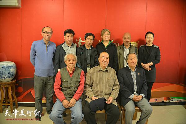 邓家驹先生2014年10月15日做客天津美术网。