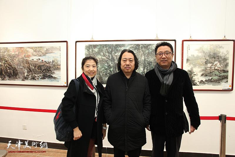 吕云所、吕大江父子中国画作品展