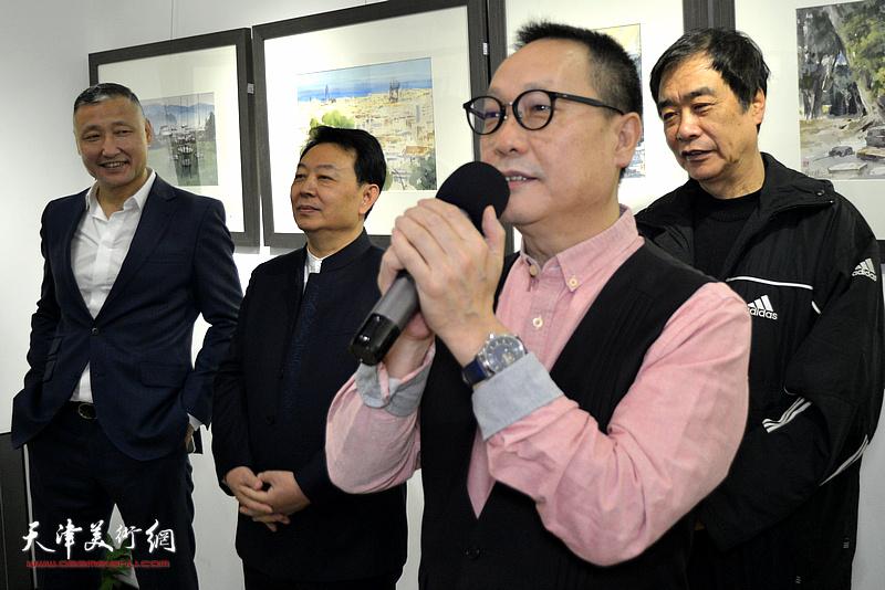 中诺(万博manbetx安卓版)文化传媒有限公司总经理赵长生致辞。
