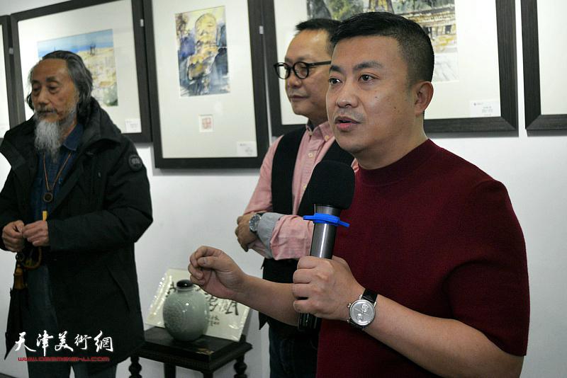 鼎天国际董事长杜耕致辞。