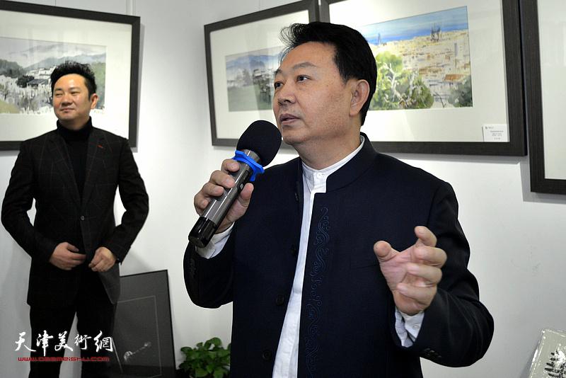 新万博manbetx客户端华绍栋致辞。